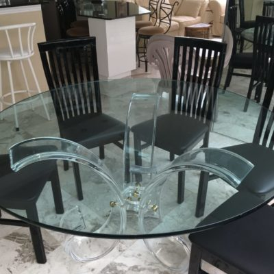Custom Glass Tables